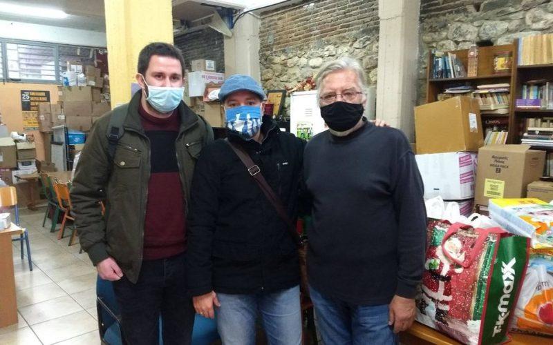 Σημαντική πρωτοβουλία των μελών του ΣΙΕΛ Αχαΐας που μοίρασαν τρόφιμα και είδη πρώτης ανάγκης σε κέντρο μεταναστών και προσφύγων