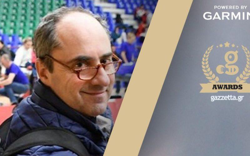 Ο Αντιπρόεδρος της ΟΙΕΛΕ και προπονητής της  Εθνικής Ομάδας Ξιφασκίας με αμαξίδιο  Δ. Κάζαγλης υποψήφιος για προπονητής της χρονιάς!