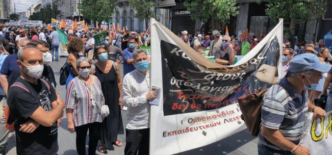 Πανεργατικός σεισμός βυθίζει την κυβέρνηση των ολιγαρχών και των μεγαλοεργοδοτών